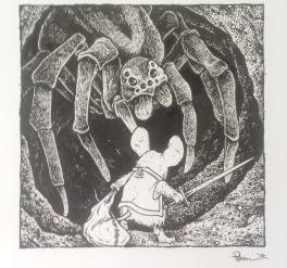 Petersen David - Mouse Guard vs Spider