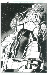 Universe X:4 #1, pg. 2 - Galactus by Brent Anderson & Will Blyberg