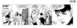Modesty Blaise Daily Strip 1019