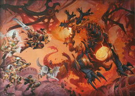Wayne Reynolds - Torchlight Guardians - Dessin Promotionnel