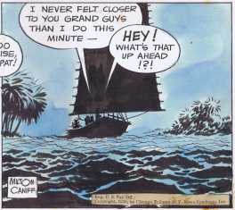 Terry and Pirates Daily 12/24/35 by Milton Caniff
