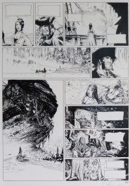 Lauffray - Long John Silver tome 03   Le Labyrinthe d'Emeraude - Planche 40