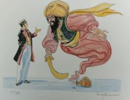 Hommage � Corto Maltese et Hugo Pratt Comic Art