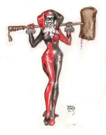 Harley Queen commission.