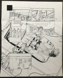 24 heures du mans - 1999 Comic Art