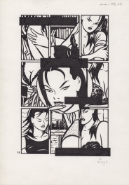 Minus Magazine - Planche 18 Comic Art