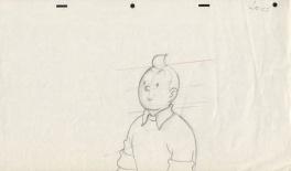 The Adventures of Tintin Comic Art