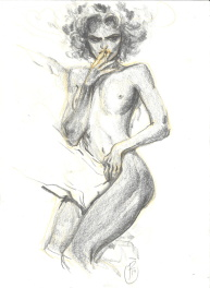 Ronan Toulhoat - Nu Comic Art
