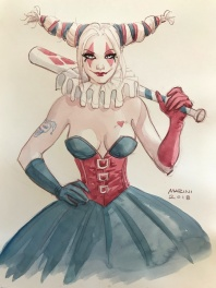 Illustration Harley Quinn