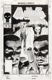 Punisher vol 2 #60, cover Comic Art