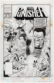 Punisher vol 2 #61, cover Comic Art