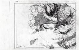 Old Man Logan Comic Art