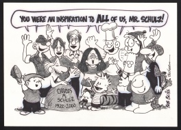 Charles Schulz Inspiration Comic Art