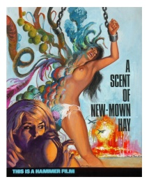 A Scent of New-mown Hay (circa 1969) - Hammer Films campaign artwork
