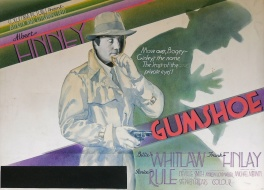 Gumshoe (1971) - movie poster painting (prototype)