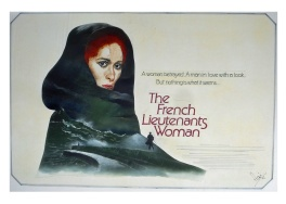The French Lieutenant's Woman (1981) - movie poster painting (prototype)