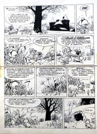 Le retour de Chlorophylle Comic Art