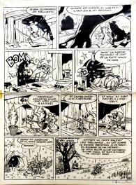 Macherot - Le retour de Chlorophylle Comic Art