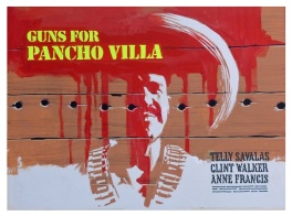 Guns for Pancho Villa (1972) - movie poster painting (prototype)