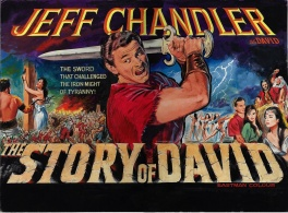 The Story of David (1961) - movie poster painting (prototype)