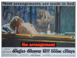 The Arrangement (1969) - movie poster painting (prototype)