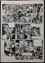 Marshal Bass tome 1 - planche 49 Comic Art
