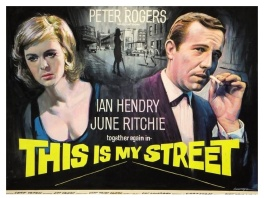 This is My Street (1964) - movie poster painting (prototype)