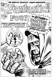 Fantastic Four # 16 cover