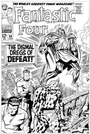 Fantastic Four # 58 cover