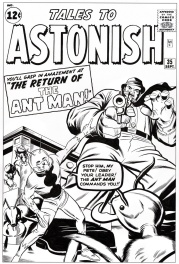 Tales to Astonish # 35 cover