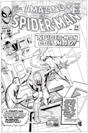 Amazing Spider-man # 24 cover
