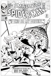 Amazing Spider-man # 31 cover