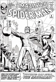 Amazing Spider-man # 4 cover