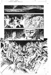 American Vampire - Declan Shalvey Comic Art