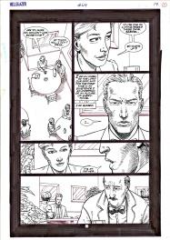 Hellblazer - Steve Dillon Comic Art