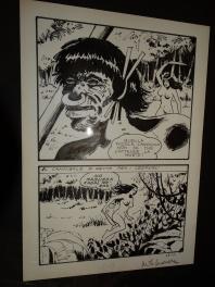 Milo Manara - Jolanda + dedicace Comic Art