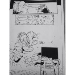 Steve Dillon - Punisher MAX Comic Art