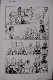 Thor Vikings Glenn Fabry Comic Art