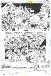 Eduardo Barreto. Batman Huntress Spoiler page 24 Comic Art