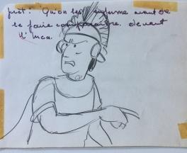 Le chef Inca Comic Art