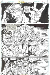 Bill Sienkiewicz - Eduardo Barreto. Batman Huntress Spoiler page 6 Comic Art