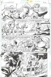 Eduardo Barreto. Batman Huntress Spoiler page 8 Comic Art