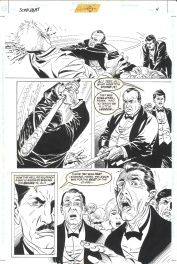 Eduardo Barreto. Planche Originale BATMAN Scar Of The Bat Comic Art