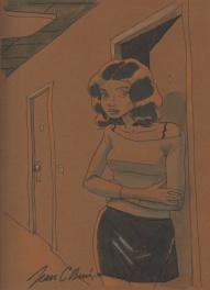 Aquarelle de Jean-Claude Denis Comic Art