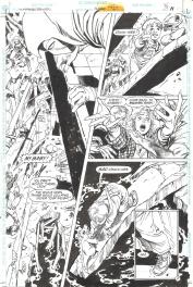 Bill SienKiewicz / Eduardo Barreto. Batman Huntress Spoiler page 11 Comic Art