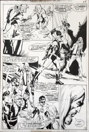 Neal Adams- Green Lantern/ Green Arrow 89 -pencils and inks 1972