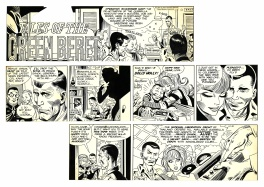 Tales of the Green Berets . Sunday strip du 31 décembre 1967 .