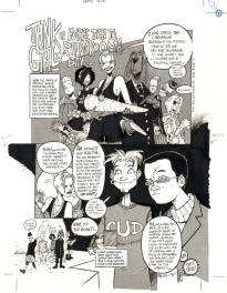 Jamie Hewlett Tank Girl episode 17 page 1