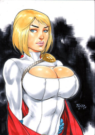 Fred Benes - Power Girl 2017