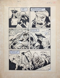 Batman Adventures Annual #2 page 15 by Bruce Timm